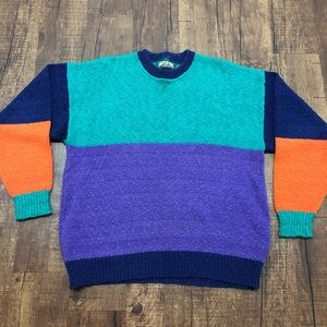 Vintage American Eagle Colorblocked Sweater